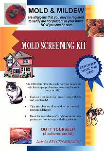 Do it yourself mold testing kit instructions solutioingenieria Image collections
